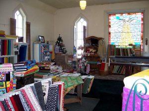 Church-Quilt Store