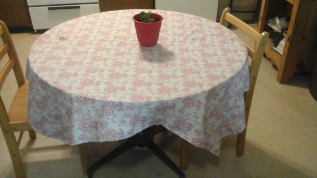 Barb's Table cloth